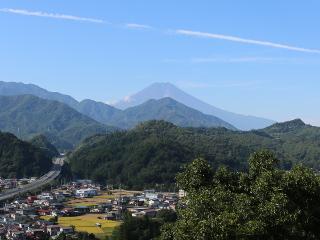 2014年9月21日の富士山写真