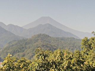 2014年9月29日の富士山写真