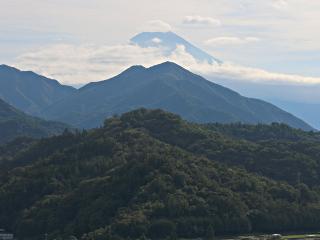 2014年10月月6日の富士山写真