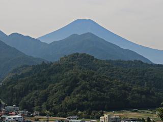 2014年10月10日の富士山写真