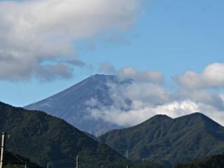 2014年10月14日の富士山写真