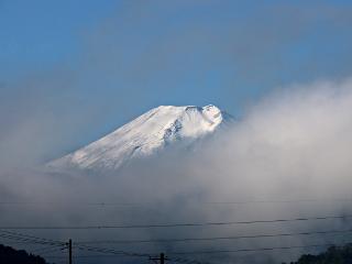 2014年10月16日の富士山写真