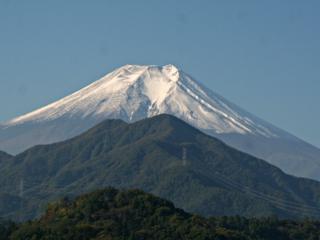 2014年10月17日の富士山写真