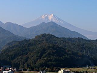 2014年10月19日の富士山写真