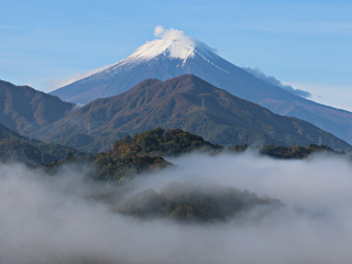 2014年11月2日の富士山写真