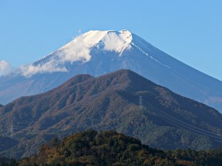 2014年11月3日の富士山写真