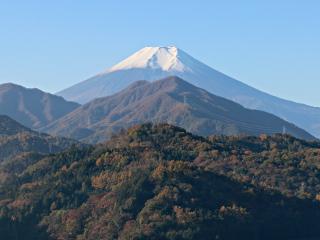 2014年11月13日の富士山写真