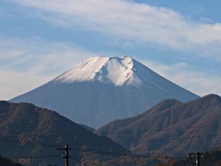 2014年11月18日の富士山写真