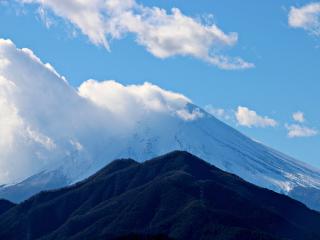 2014年12月14日の富士山写真