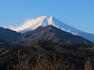 2014年12月18日の富士山写真