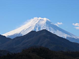 2014年12月22日の富士山写真