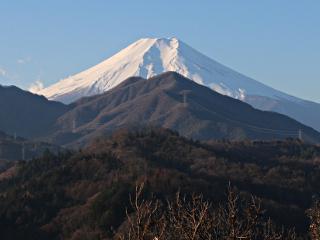 2014年12月25日の富士山写真