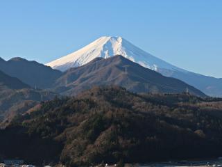 2014年12月26日の富士山写真