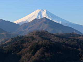 2014年12月28日の富士山写真
