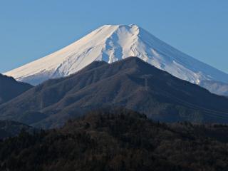 2015年1月8日の富士山写真