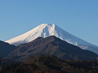 2015年1月9日の富士山写真