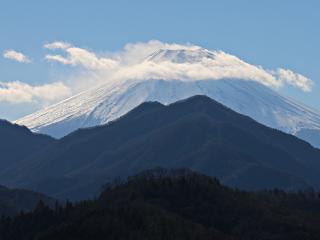 2015年1月10日の富士山写真