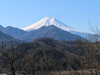 2015年1月12日の富士山写真