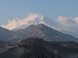 2015年1月17日の富士山写真