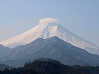 2015年1月26日の富士山写真1枚め