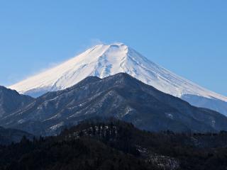 2015年2月01日の富士山写真