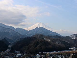 2015年2月4日の富士山写真