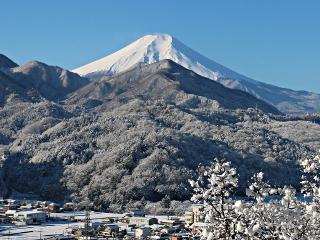 2015年2月6日の富士山写真