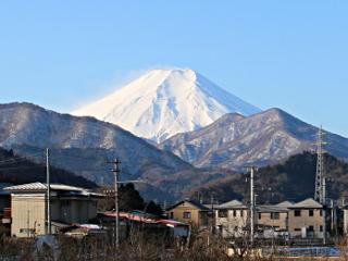2015年2月10日の富士山写真