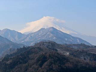 2015年2月12日の富士山写真