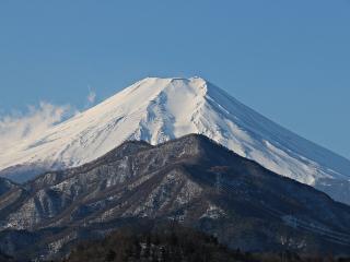 2015年2月13日の富士山写真