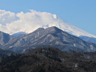 2015年2月19日の富士山写真