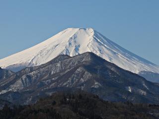 2015年2月21日の富士山写真