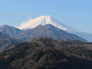 2015年2月27日の富士山写真