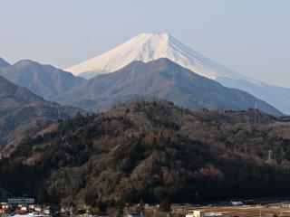 2015年2月28日の富士山写真