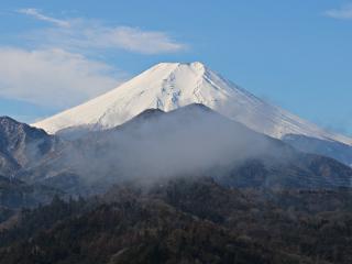2015年3月4日の富士山写真