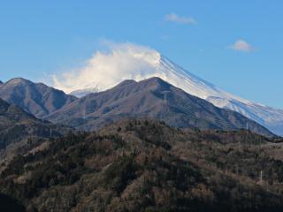 2015年3月11日の富士山写真