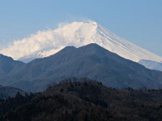 2015年3月12日の富士山写真