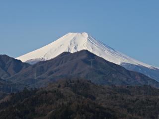 2015年3月17日の富士山写真