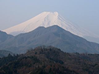 2015年3月22日の富士山写真