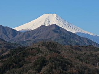 2015年3月24日の富士山写真