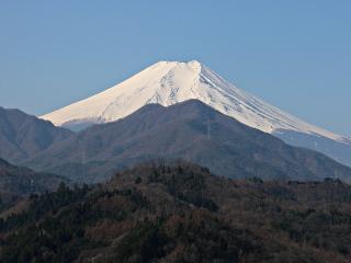 2015年3月31日の富士山写真