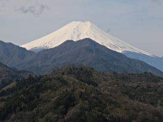 2015年4月12日の富士山写真