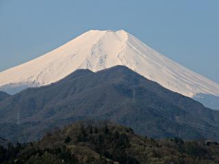 2015年4月16日の富士山写真