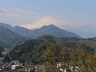 2015年4月17日の富士山写真