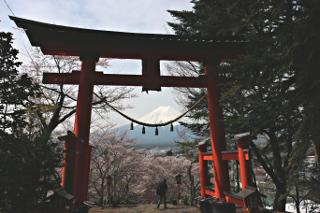 2015年4月18日の富士山写真