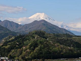 2015年4月22日の富士山写真