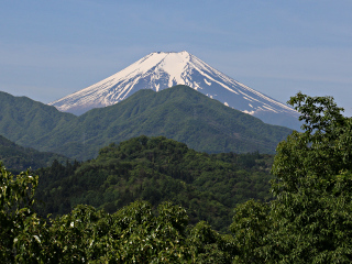 2015年5月11日の富士山写真