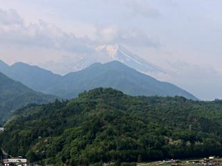 2015年5月17日の富士山写真