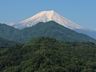 2015年5月21日の富士山写真