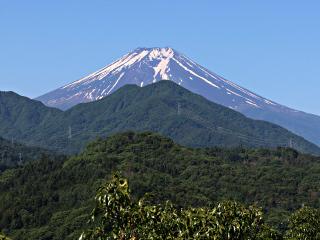2015年5月30日の富士山写真